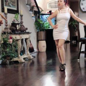 ASOS Cutout bodycon dress